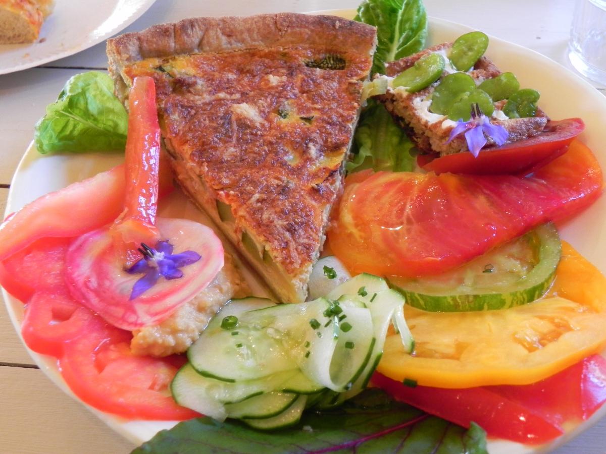 assiette végétarienne de Cécile 4