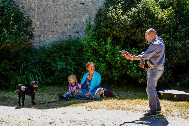 Fête bio à la Grande Suardière, 7 juin 2015, La Perrière, parc du Perche, Orne, Basse-Normandie, France.