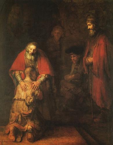 Rembrant 1669 fils prodigue