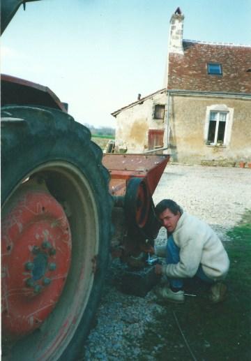 LGS THierry et tracteur